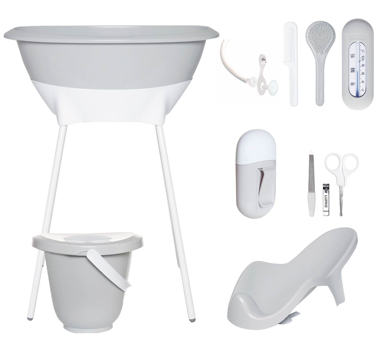 Order The Luma Bath And Care Set 8 Pieces Online Baby Plus