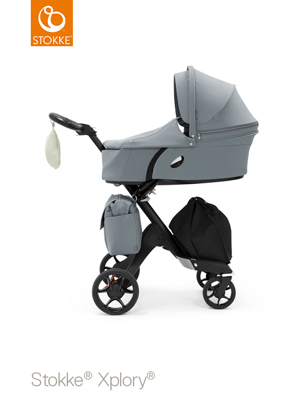 Baby Parasol compatible with Stokke Xplory Black
